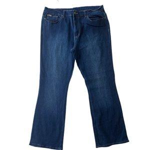 DG2 by Diane Gilman Boot Cut Jeans Sz 16
